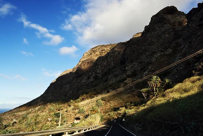 Hory u La Cuesta nedaleko Buenavisty del Norte