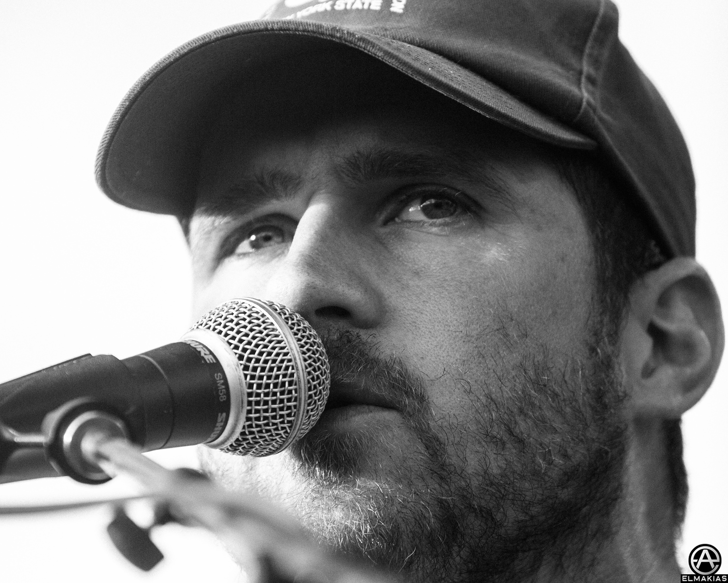 Onstage Portrait - Jesse Lacey of Brand New