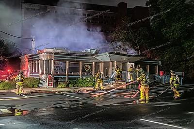 Diner Fire - 427 Elm St, West Haven, CT - 7/3/20