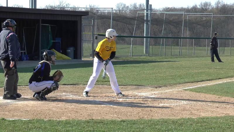 2014 JTHS Soph Baseball Game 7 at LWE