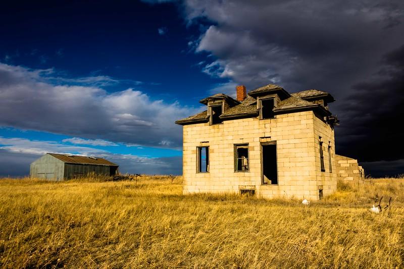 Old Homestead on Eastern Plains