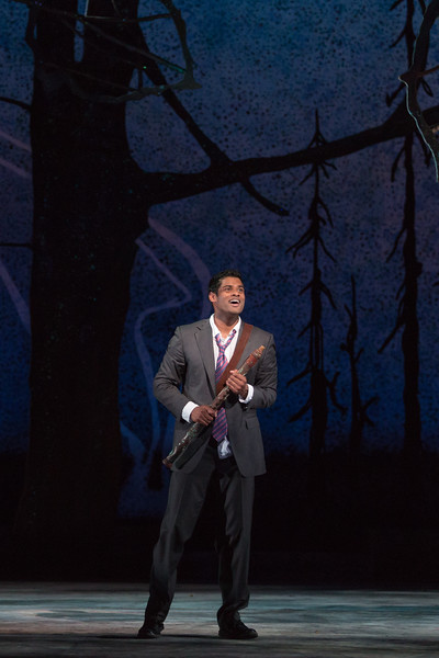 "Sean Panikkar as Tamino in The Glimmerglass Festival's 2015 production of Mozart's ""The Magic Flute."" Photo: Karli Cadel/The Glimmerglass Festival"
