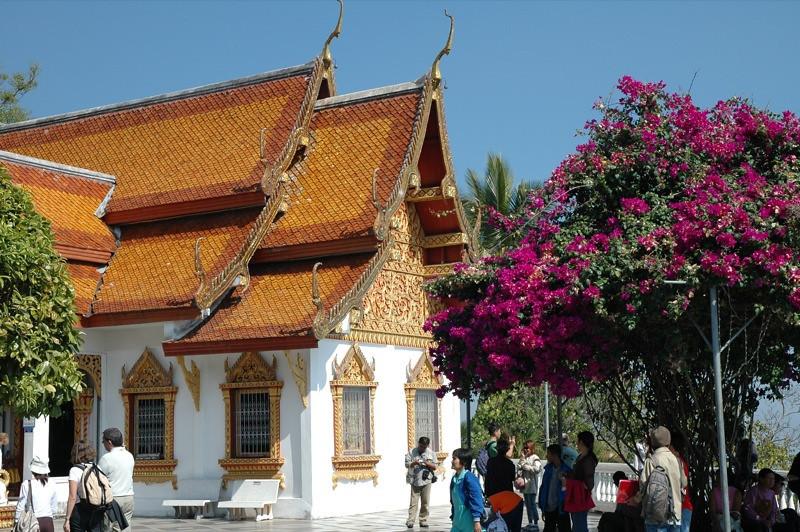 Wat Phrathat Doi Suthep - Chiang Mai, Thailand