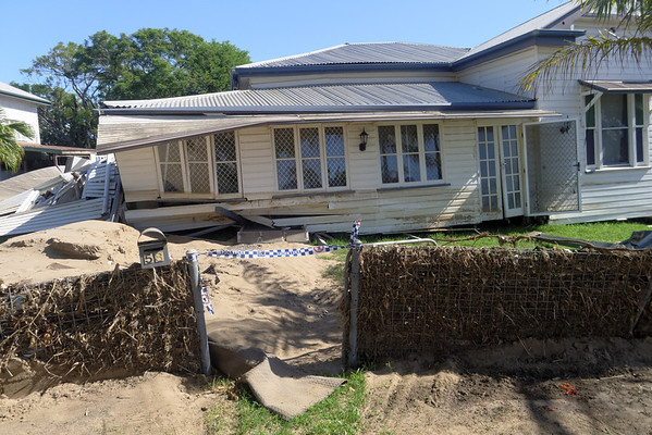 North Bundaberg Flood Damage.