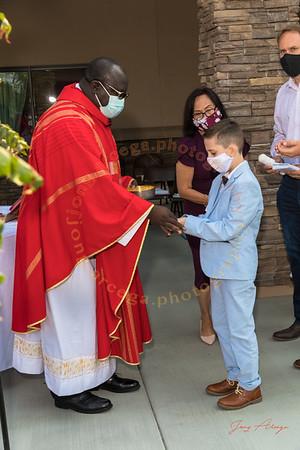 2020-08-29 HF 1st Holy Communion 10AM