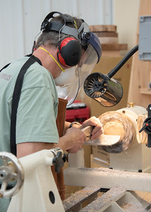 Adding Decorative Inlaid Rims & Imagery to Woodturning with Stephen Hatcher