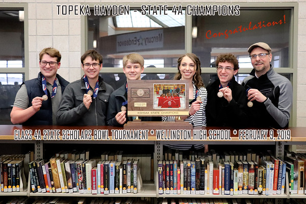 CLASS 4A STATE SCHOLARS BOWL TOURNAMENT