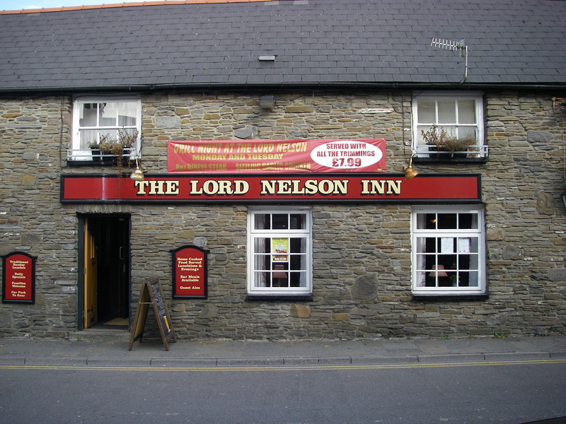 A pub in a local town near the office where i had lunch.