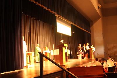 First Friday All School Mass 2012