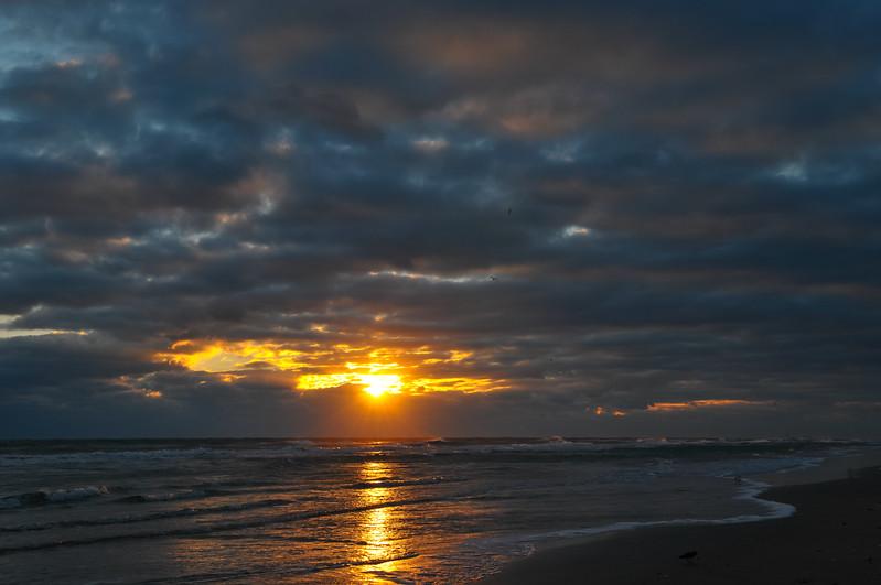 Sunrise from Playalinda Beach