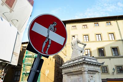 roadsign - streetart