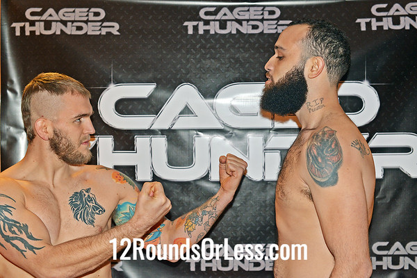 Pro Bout #1:  Marquis Allen (1-2)  vs  Chad Kelly (2-3)