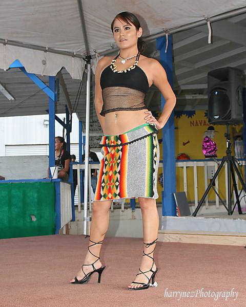 Native Fashion Show Navajo Nation Fair 09-08-07