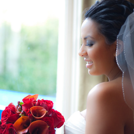 Evan and Naomi Wedding  Day.