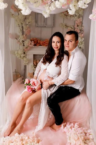 Sedinta foto maternitate Alexandra Maria