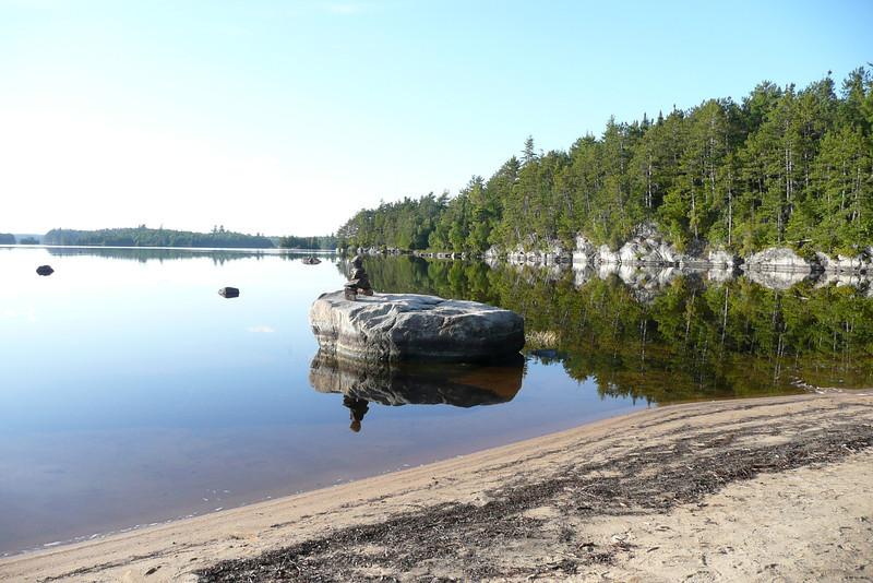 Campsite 15-15. Lac Poulter, La Vérendrye Wildlife Reserve