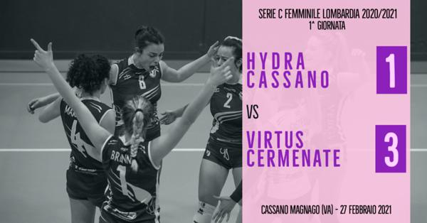 LOM-Cf: 1^ Hydra Cassano - Virtus Cermenate
