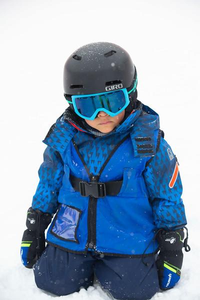 Clarke Family Skis Snowmass