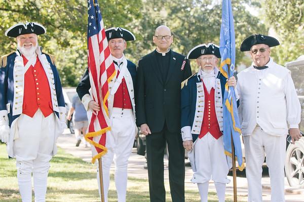DAR Flag Ceremony Sept 25