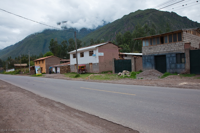 A little town in the Sacred Valley, Peru.