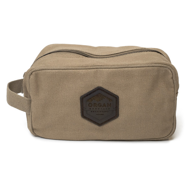 Outdoor Apparel - Organ Mountain Outfitters - Bags - Organ Mountain Canvas Travel Kit - Coyote Brown.jpg