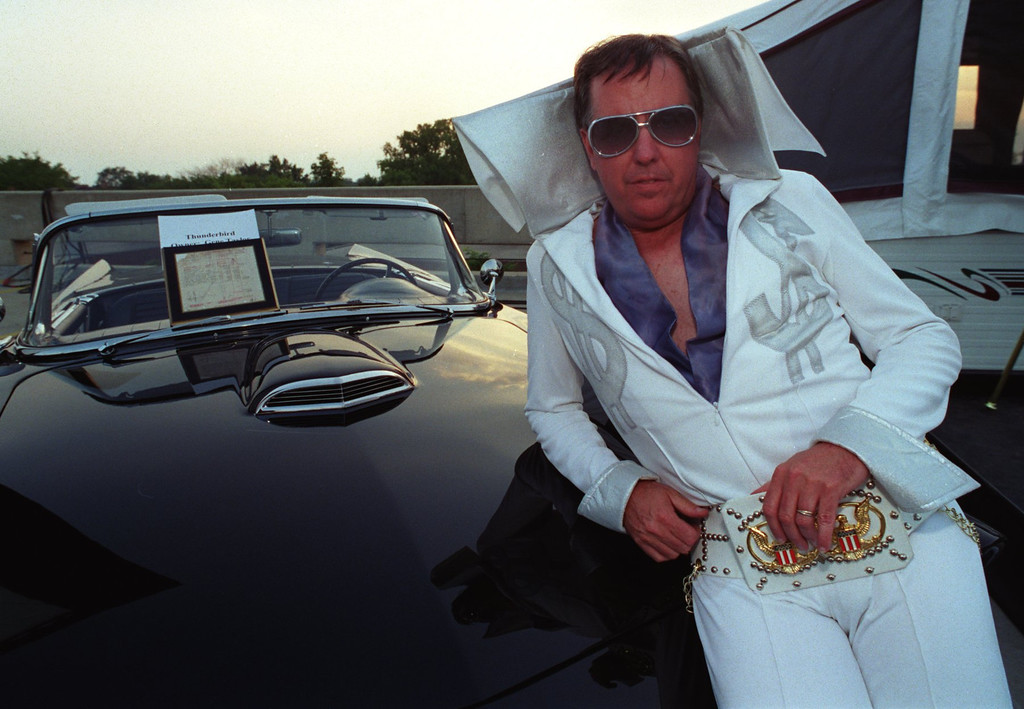 . Society Dream Cruise.. Brought WOMC Elvis-Gene Taylor out to entertain the crowd.