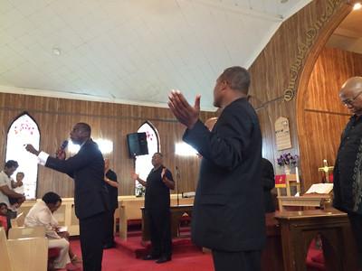 Mt. Calvary Baptism 06/28/15