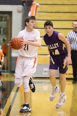 13JV Junior Varsity:  Valley JV at Wheelersburg JV 2020