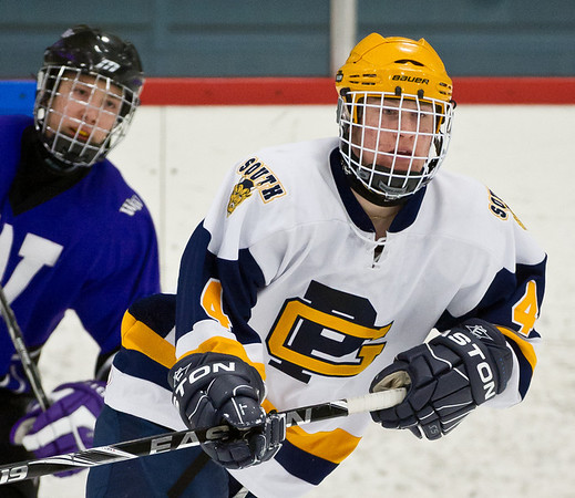 Grosse Pointe South v Woodhaven, Hockey, 1-21-12
