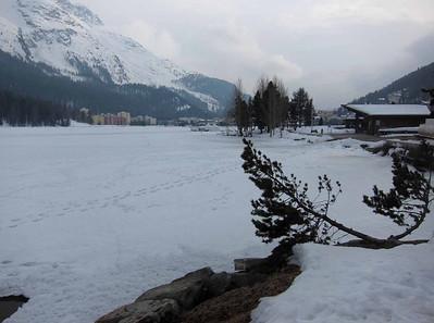 St. Moritz im März