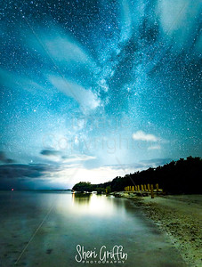 Night photography in the Florida Keys