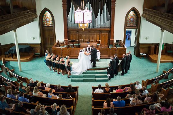 Wilson Wedding at Court Street United Methodist Church - Fulton, MO Wedding Photographer