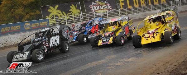 Oswego Speedway - 10/7/18 - Lucas Ballard