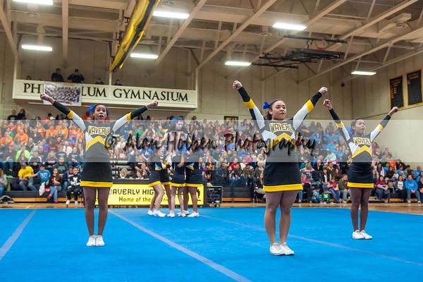 Cheer league meet at Waverly - Waverly