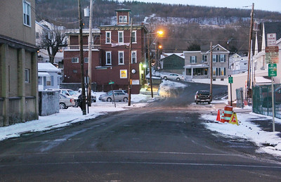 Sewer Work is Complete in Swatara Street, Tamaqua (1-22-2014)