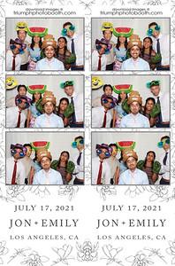 7/17/21 - Jon & Emily Wedding
