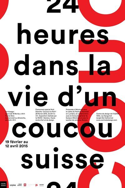 Invitation-affiche de l'exposition