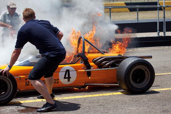McLaren Fire
