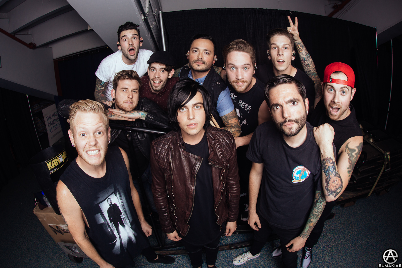 Sleeping with Siren and A Day To Remember - Parks and Devastation Tour by Adam Elmakias