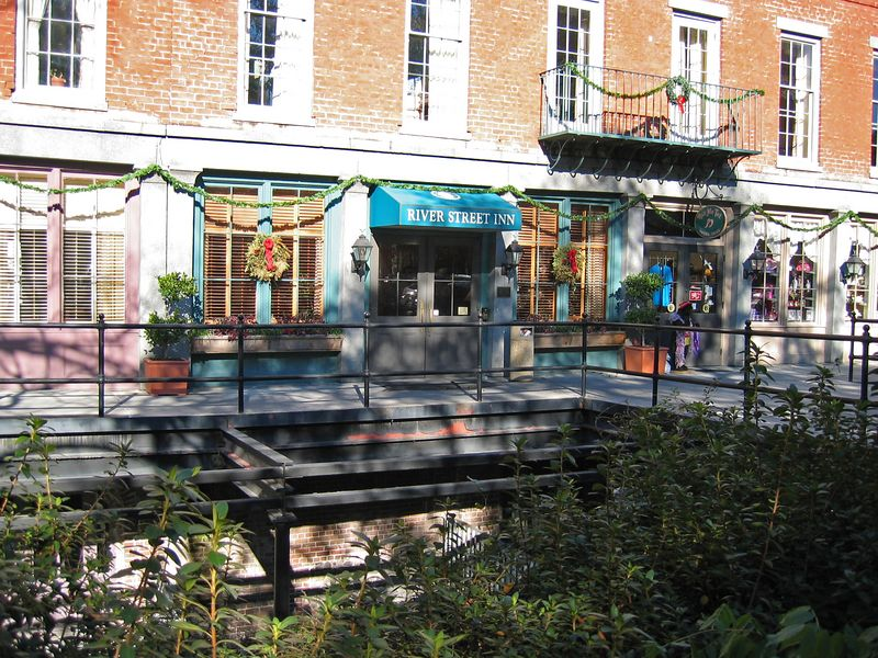 The River Street Inn, our hotel in Savannah.