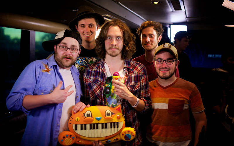 2013_03_14, SXSW, South by Southwest, Aussie's Bar and Grill, Toy Machine, @lennonbus, Cat Keyboard, lb.org