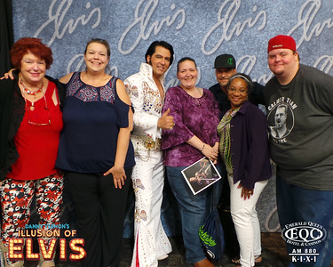 Danny Vernon Illusion of Elvis August 2019