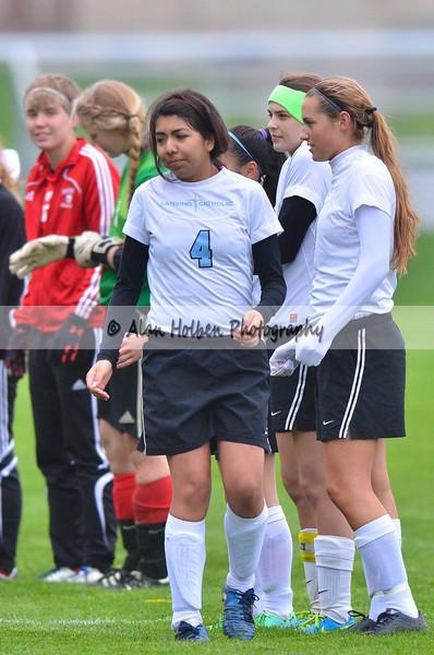 Girls Varsity Soccer - Jackson NW at Lansing Catholic