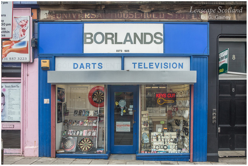 Borlands Darts and Television, Croall Place