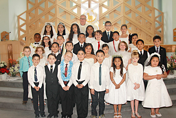 Our Lady Queen of Heaven- First Communion May 18, 2014