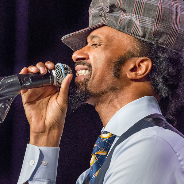 Fantastic Negrito a.k.a. Xavier Dphrepaulezz, leader and singer. Taken at SXSW in Austin
