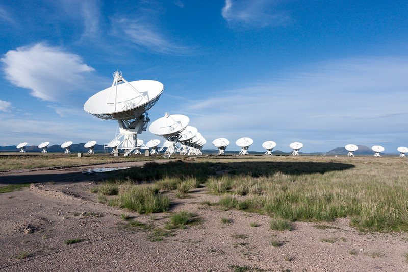 The Very Large Array west of Socorro, New Mexico
