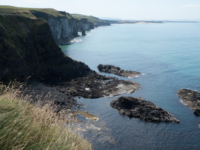From Dunluce Castle. County Antrim