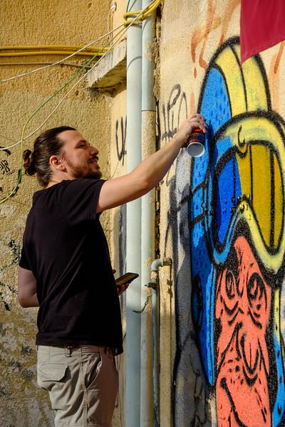 Leandro:  Tel Aviv street art