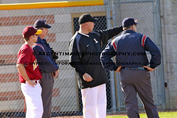 UAHS Varsity Baseball 3/30 Home Opener
